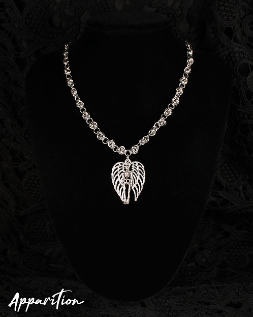 Fallen Angel Chainmaille Necklace