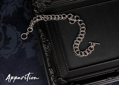 Aura Pendant Chainmaille Bracelet