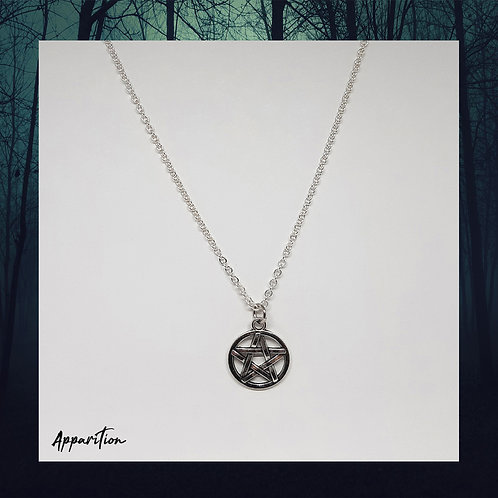 Pentacle Chain Necklace