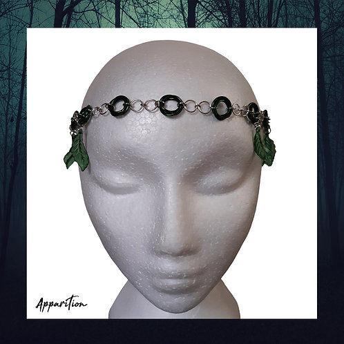 Forest Nymph Chainmaille Headdress