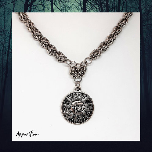Astral Design Chainmaille Necklace
