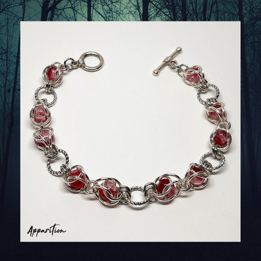 The Blood Queen Chainmaille Bracelet