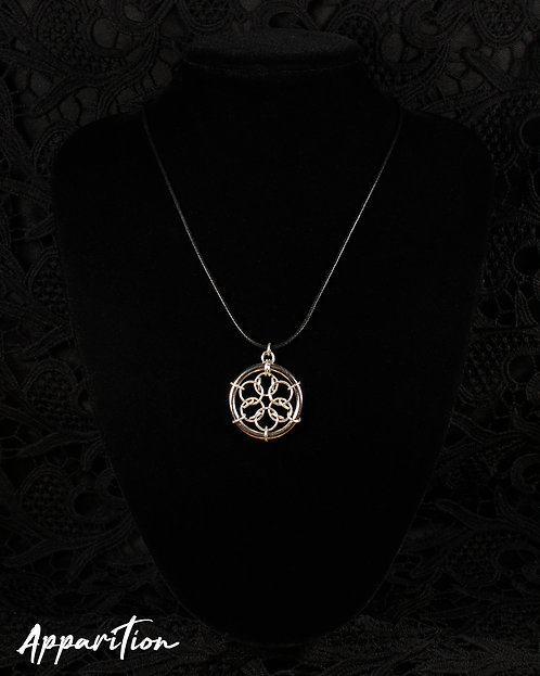 Acute Mandala Chainmaille Pendant