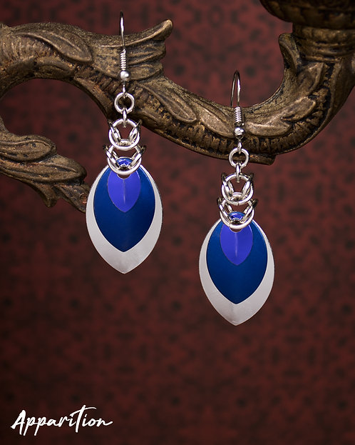 Serpentine Scalemaille Earrings