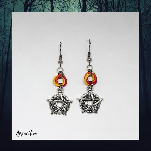 The Mage of Fire Earrings