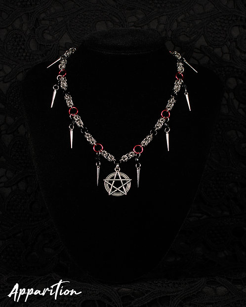 Lilith's Hold Chainmaille Necklace