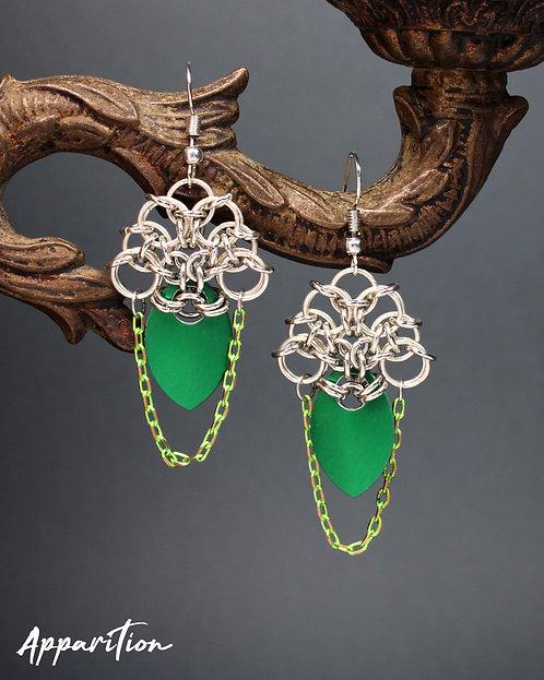 Lady Noriko Chainmaille Earrings