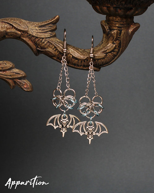 Batty & Blue Chainmaille Earrings