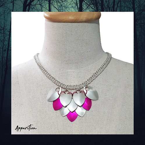 Trinity Rose Scalemaille Necklace