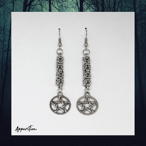 The Byzantine Witch Earrings
