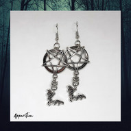 Bat Out of Hell Chainmaille Earrings