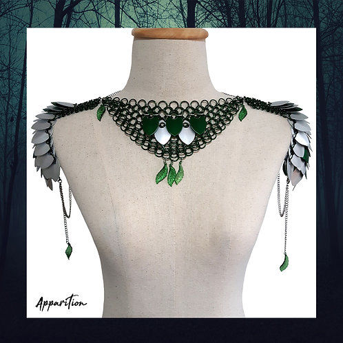 Forest Nymph Scalemaille Pauldrons