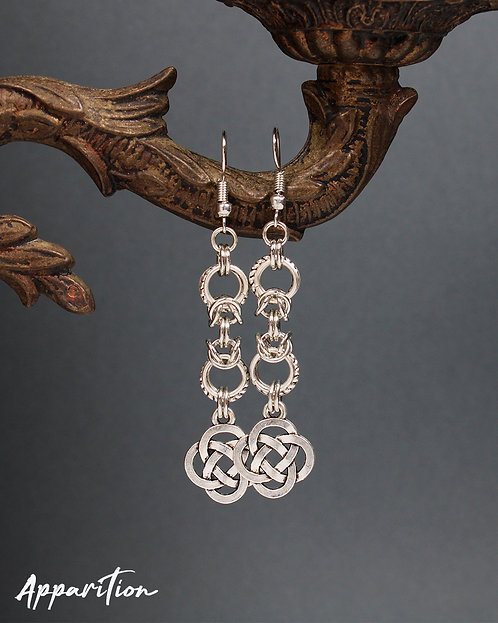 Celtic Link Chainmaille Earrings