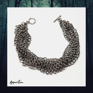 Twisted Chainmaille Bracelet