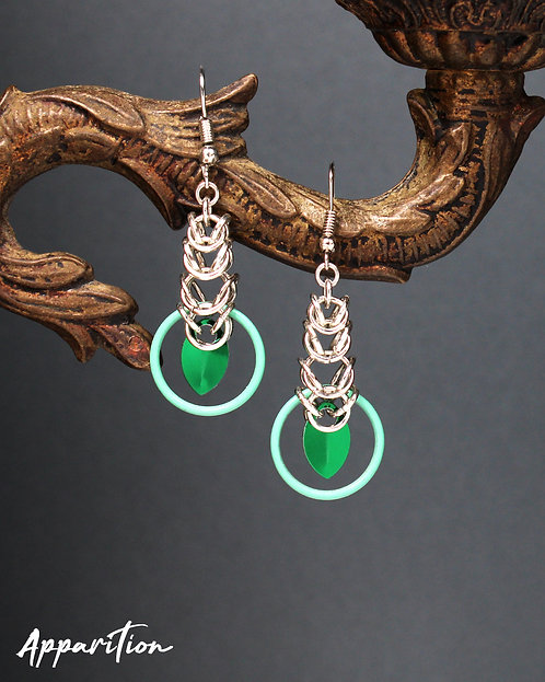 Solace Chainmaille Earrings