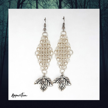 Autumn's Dream Chainmaille Earrings