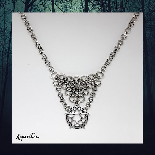 The High Priestess Chainmaille Necklace