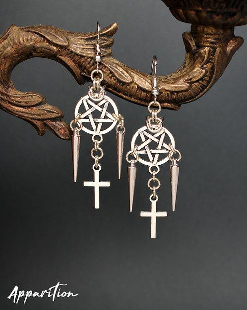 Infernal Chainmaille Earrings