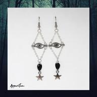 Mystic Eye Teardrop Earrings