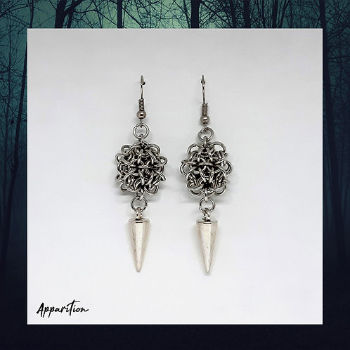 Onna-Bugeisha Chainmaille Earrings