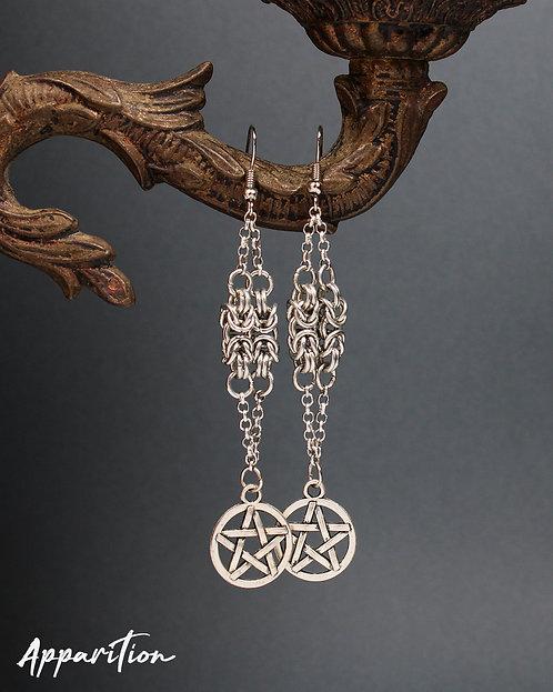Byzantine Magic Pillar Earrings
