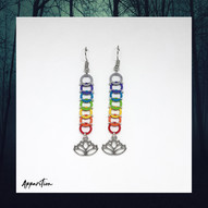 Perfect Balance Chainmaille Earrings