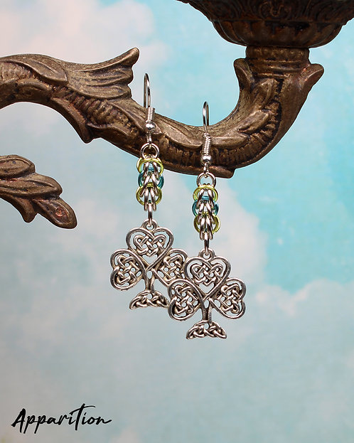 Eos Chainmaille Earrings