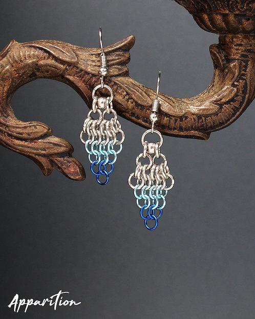 Sea Breeze Chainmaille Earrings