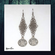 Tree of Ancients Chainmaille Earrings