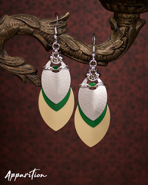 Fusion Scalemaille Earrings