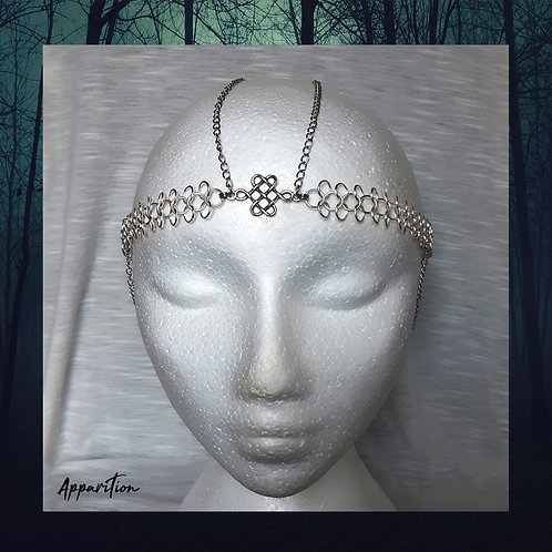 Goddess Idun Chainmaille Headdress