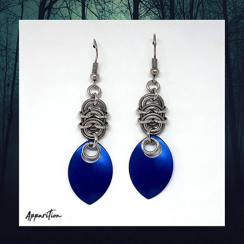 Dragon's Journey Scalemaille Earrings