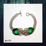 Scalemaille Flower Chainmaille Bracelet