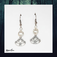 Circle of Peace Chainmaille Earrings