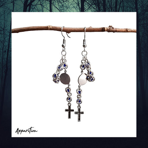 Catechism Chainmaille Earrings