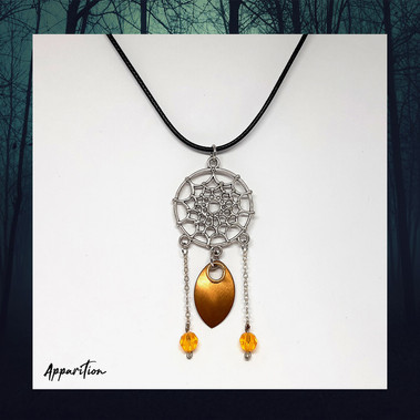 Dream Catcher Scalemaille Necklace