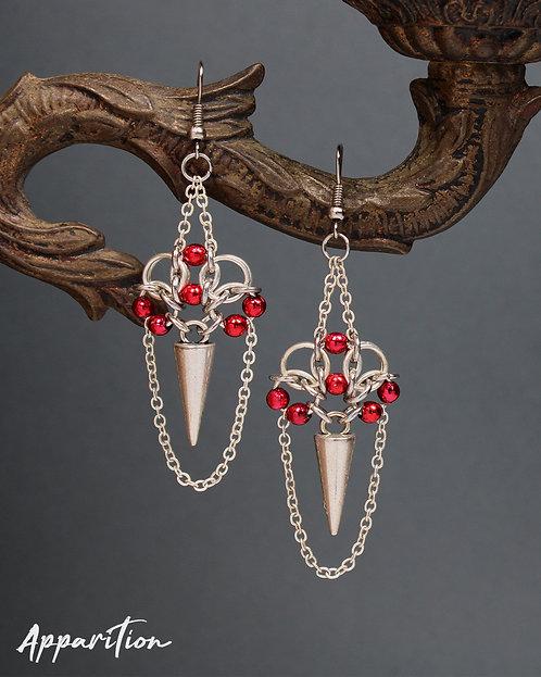 Vampira Chainmaille Earrings
