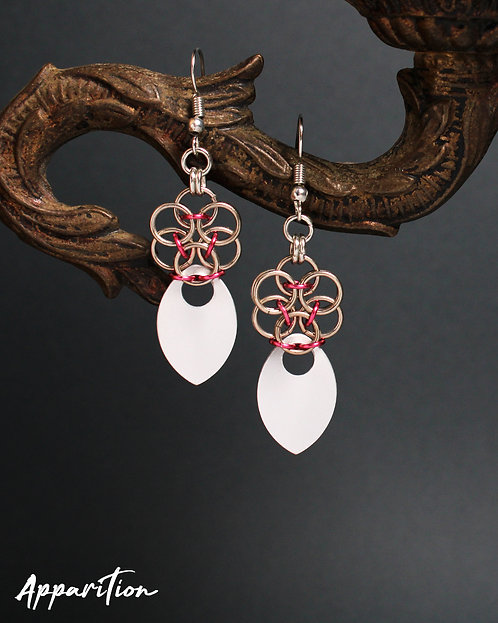 Full Bloom Scalemaille Earrings