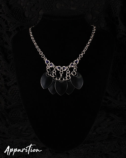 Lady Mortis Scalemaille Necklace