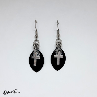 Gothic Church Earrings