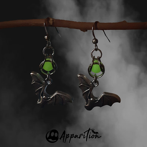 Nocturne Chainmaille Earrings