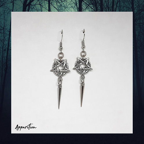 Hekate's Touch Chainmaille Earrings