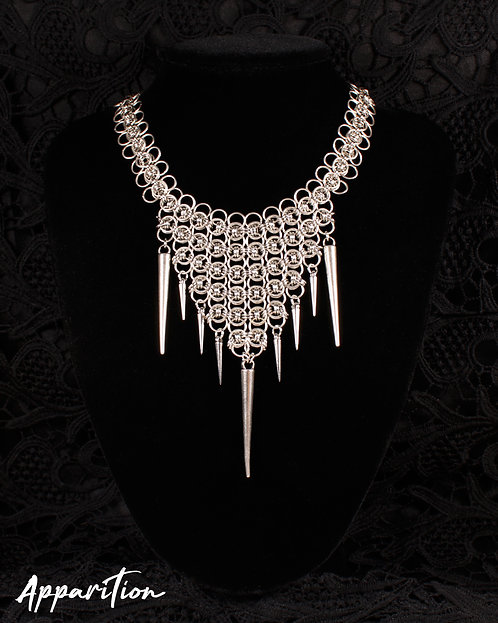 Vampire Queen Chainmaille Necklace