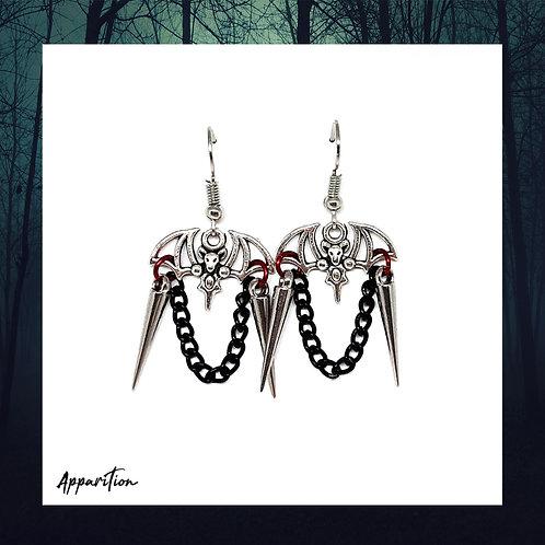 Vampyr Chainmaille Earrings