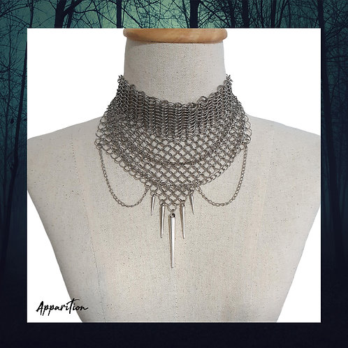 Shield Maiden Chainmaille Necklace