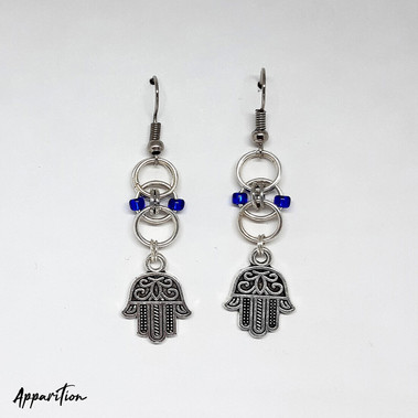The Blue Guide Earrings