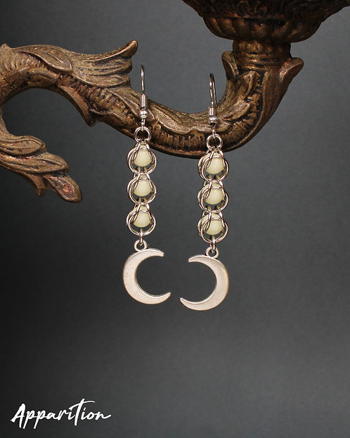 Outerworld Chainmaille Earrings