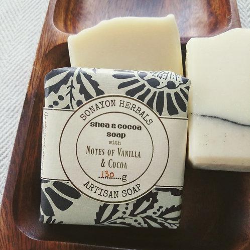 Artisan Soap (Vanilla & Cocoa)