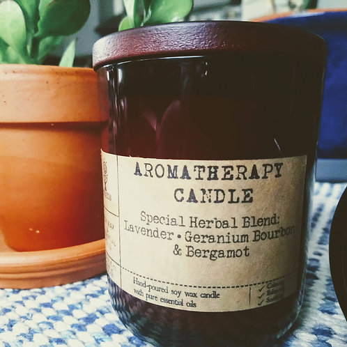 Large Deluxe Aromatherapy Candle no.2