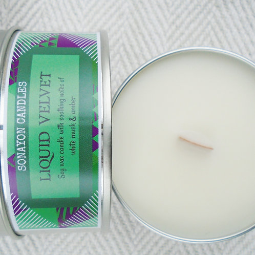 Plant Wax Candle (Liquid Velvet)